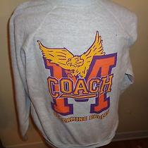 Xl Vtg 90s Coach Show Minnesota State Screaming Eagles Sweatshirt Shirt Football Photo