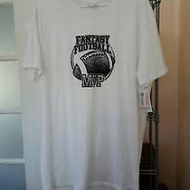 Xl X-Large Lularoe Hudson Short Sleeve Fantasy Football Mvp Black White Nwt 2019 Photo