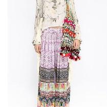 Xmas Sale10%Off New Camilla Franks Silk Swarovski Kaylana Wide Leg Pants Sz 2 Photo