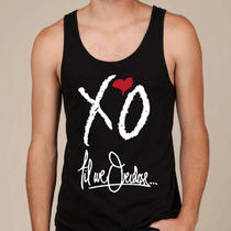 Xo the Weeknd Mans Tank Top Xo Till We Owerdose Tank Top Mans Tshirt Xo Tshirt Photo