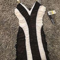 Xoxo Black and White Dress Photo