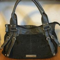 Xoxo Black Handbag Large 13