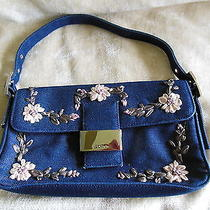Xoxo Blue Denim Handbag Photo