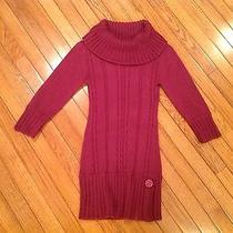 Xoxo Cable Knit Turtleneck Sweater Dress Size S Photo