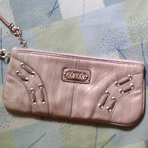 Xoxo Clutch Purse  Bone  Handbag. Super Cute Fun Photo