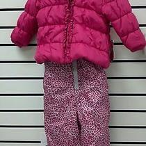 Xoxo Girls Snow Suit Pink 2t Photo