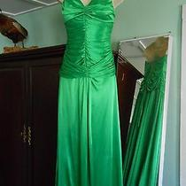 Xoxo Green Gown Size M Great for Prom & Special Occasion  Photo