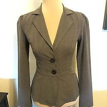Xoxo Grey Fitted Blazer  Photo