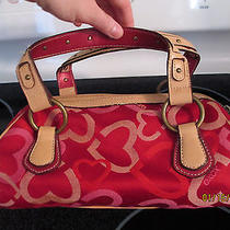 Xoxo Hearts Red Handbag Photo