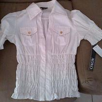 Xoxo Shirt Blouse Corset Style Size M New With Macy's Tags Photo