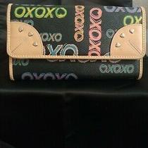 Xoxo Wallet Multi Color Tri Fold Photo