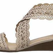 Xoxo Women's Ambridge Wedge Sandal Blush Size 6.5 Photo