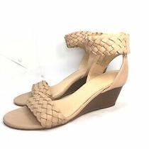 Xoxo Women's Sonnie Ankle Strap Wedge Sandal  Blush  Size 8 Photo