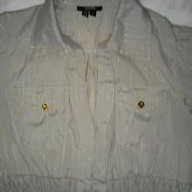Xoxo Women's Top Size Medium Dress Shirt Short Sleeve New Photo