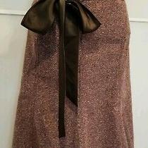 Xoxo Women Stylish Skirt Beige  Polyester Rayon Spandex Size 13/14 Photo
