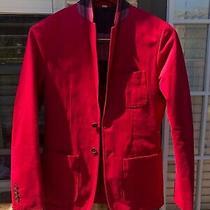 Xs Authentic Burberry Brit Mans Sport Blazer Jacket Coat Suit Vibrant Pink Men Photo