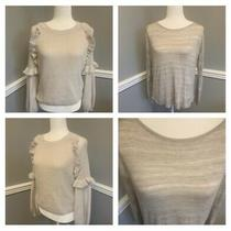 Xs Express and h&m Tops Great Condition Long Sleeve Neutral Photo