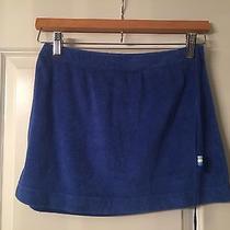 Xs Express Terry Cloth Cobalt Blue Mini Skirt Photo