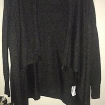Xs Old Navy Sweater Open Front Long Sleeve Dark Gray Soft Cozy Photo