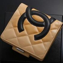 Y3702 Authentic Chanel Cambon Coco Wallet Photo