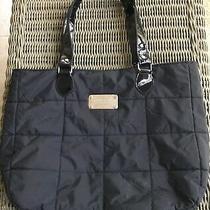 Yankee Candle Womens Black Micro Fiber Tote Bag-Euc Photo