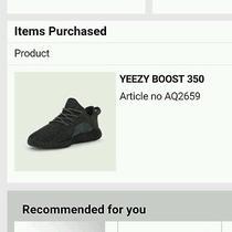 Yeezy Boost 350 Black Photo