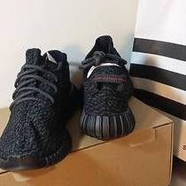 Yeezy Boost 350 Black Size 8.5  Photo