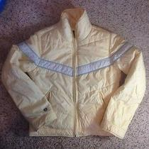 Yellow Abercrombie & Fitch Women's Small Winter Outdoors Outerwear Jacket Ked Photo