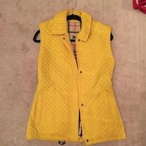 Yellow Burberry Vest Size Small (Never Worn)  Photo