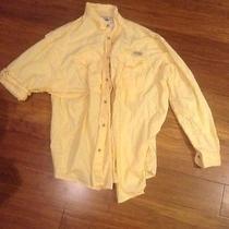 Yellow Columbia Pfg Xl Fishing Shirt Photo