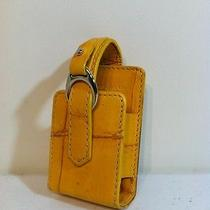 Yellow Dooney & Bourke Old Cell Phone Case Photo