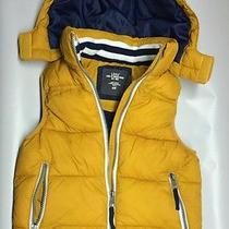 Yellow Very Nice Logg h&m Boys Kids Warmest Puffer Vest With Hood Size 4-5 Years Photo
