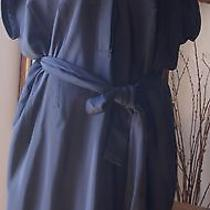Yigal Azrouel...a Tunic Dress With Sash..nice Details..nwot Photo