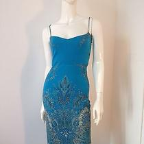 Yigal-Azrouel    Beautiful Dress  Color Aqua  Superior Condition Size 3  Photo