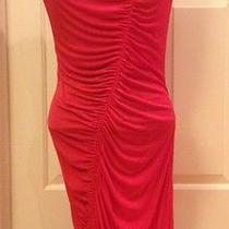Yigal Azrouel  Designer Red Dress Size S   Photo