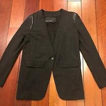 Yigal Azrouel Gray Hi-Low Jacket Size 2 Photo