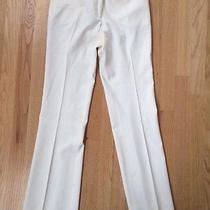 Yigal Azrouel Off White Pants Size 2 Photo