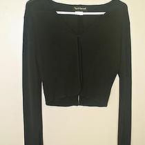 Yigal-Azrouel Solid Black Shrug - Size 2 Photo