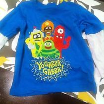 Yo Gabba Gabba 18m Kids Shirt Blue Used Long Sleeve Bebe Tv Show Made in China Photo
