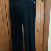 Yoga Pants by Pink/victoria's Secret Sweats Lounge Black Womens M Euc .99 Photo
