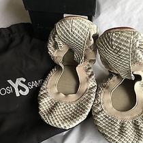 Yosi Samra Fold-Up Leather Ballet Flats  Photo