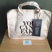 'You Can't Fake Fashion' Bag Canvas Tote Bag Fashion Designers of America Cfda Photo