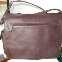 Youneedthis Fossil Brown Flap Book Bag Brief Case Shoulder Bag Purse Tote Photo