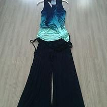 Young Broke and Fabulous Blue Tie Dye Outfit Size Small Photo