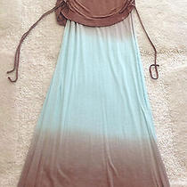Young Fabulous and Broke Sierra Skirt  Ruched Foldover Maxi Drawstring Small Photo