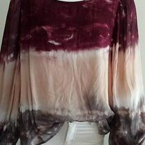 Young  Fabulous  and Broke  Tie Dye Blouse With Open Back Size M Photo