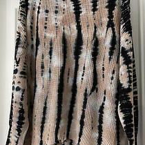 Young Fabulous and Broke Tunic Sweater in Blush/navy Tie Dye Sz S/m Nwtgs Photo