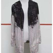 Young Fabulous & Broke Gray Black Long Sleeve Open Hood Jacket Sz Xs Nwt 26551 Photo