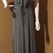 Young Fabulous & Broke Gray Racerback Maxi Dress Size S Photo