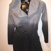 Young Fabulous & Broke Hooded Ombre Sweater Belted Wrap Jacket Fleece Duster S Photo